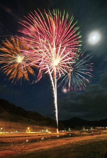 サプライズ花火、全国の夜空に咲く 福井県内でも150発、元気届ける