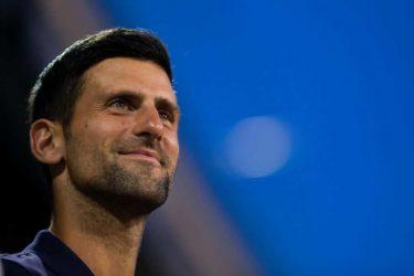 ジョコビッチが地元ファンの前で涙。「感情に圧倒されている」