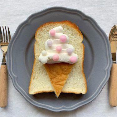 すぐに真似できちゃう♡いつもの食パンが可愛く大変身するレシピ3選