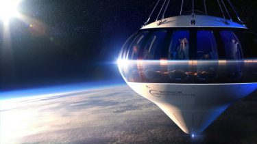 成層圏から見下ろす大地と海。米企業が宇宙を感じられる気球の旅を計画中