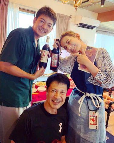 スザンヌ、父親の好物を作り誕生日をお祝い「笑顔がいーっぱい見れて幸せでした」