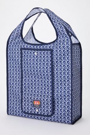 ぎょうざ柄エコバッグ、可愛いじゃん! 餃子の王将でスタンプためるともらえるよ。