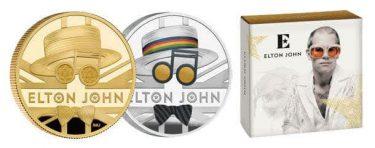 「エルトン・ジョン」の公式記念コインが登場!名曲『アイム・スティル・スタンディング』時代がモチーフ!