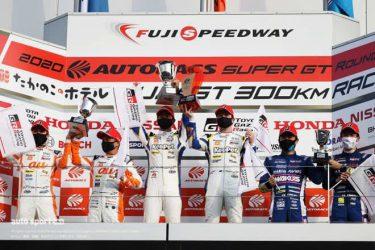 スーパーGT:豊田社長「スープラのサーキット復帰を最高の形で果たしてくれた」