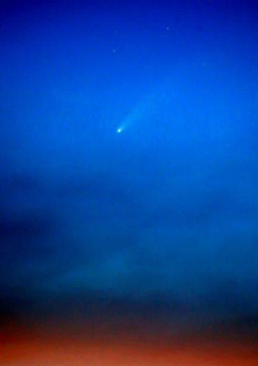 「ネオワイズ彗星」捉えた! 京都の男性が撮影、次に見られるのは5千年以上先…