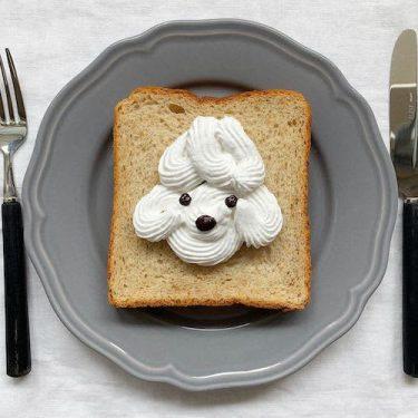 可愛すぎて食べられない♡ 簡単に再現できちゃうスイーツ系トーストアート5選