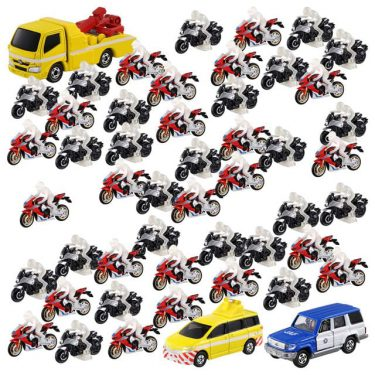 トミカの「50台ミニカー」セットシリーズが「狂気に満ちてる」と話題に! 担当者に話を聞いてみた
