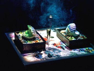 テーブル上でプロジェクションマッピング?!驚きしかないレストラン3選