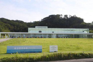目の前に海が広がる素敵な美術館♪ 「恋人の聖地」横須賀美術館へ