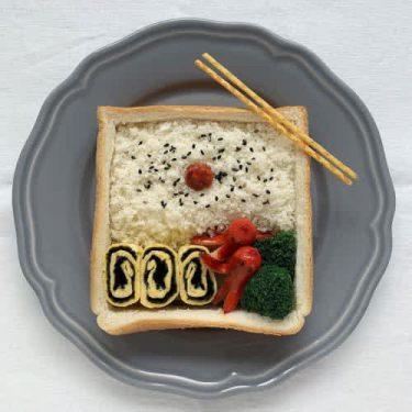「大変身」で子どもも喜ぶこと間違いなし♡ アートな惣菜系パンレシピ4選