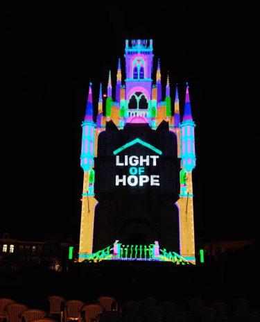 感染禍を生きる人々へ ハウステンボスで「希望の光」