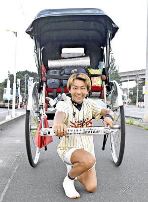 人力車で東北縦断!浅草の俥夫・鈴木さん「心に火ともしたい」