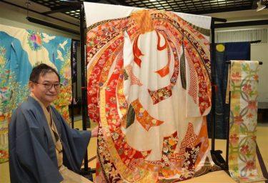 「世界は一つになれる」 213カ国・地域の着物完成 発案者の高倉さん
