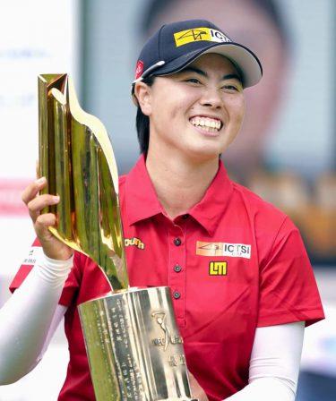 女子ゴルフ、19歳笹生が初優勝