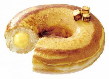 クリスピークリームドーナツ、「バスクチーズケーキ」風ドーナツを発売