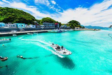 「これ沖縄じゃなくて高知!」透明度の高いエメラルドグリーンの海に大反響!…撮影者に聞いた