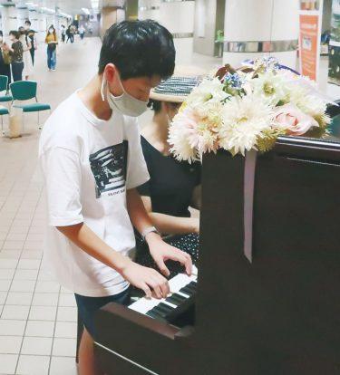 湘南台にストリートピアノ 市内初 駅内の新名所