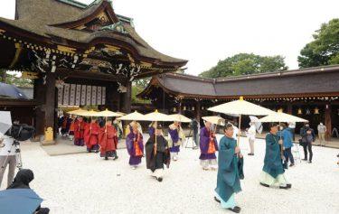 応仁の乱以来、550年ぶりに神仏習合の祈り 京都・北野天満宮に延暦寺の僧侶訪れ「北野御霊会」 コロナ終息願う