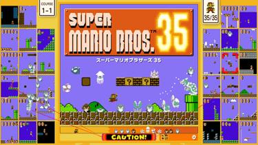 『スーパーマリオ』でバトロワ!『SUPER MARIO BROS. 35』期間限定配信開始