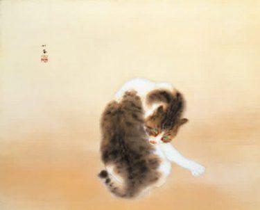 カフェで展示品にちなんだ動物の和菓子も! 日本画家「竹内栖鳳」特別展