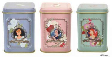 ルピシアのディズニープリンセス紅茶缶が素敵! 1080円で優雅なティータイム叶う。