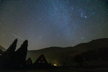 オリオン座流星群、きょう活動のピークに。時間や方角、観測のポイントは?