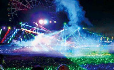 <イルミ>LED300万球でオーロラや輝く動物も 東武動物公園で光と音楽の祭典、11月21日から開催
