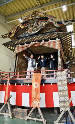 「歌舞伎屋台」再建 須賀川の本町町内会 文化継承、地域に元気