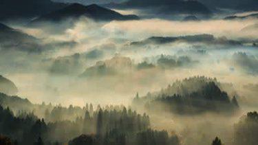 水墨画……? いえ、写真なんです! 息をのむ幻想的な風景にツイッターで感動の嵐 – 「完璧な美術品」「ドラゴン出るやつ」