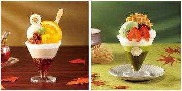 くら寿司 KURA ROYAL 『紅茶とオレンジのパフェ』 『抹茶とホワイトチョコのパフェ』 ― 期間限定販売 ―