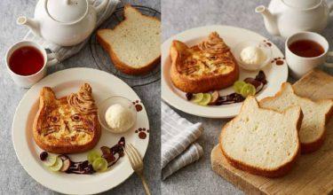 Afternoon Tea、「ねこねこ食パン」と初コラボ! 11日間限定発売
