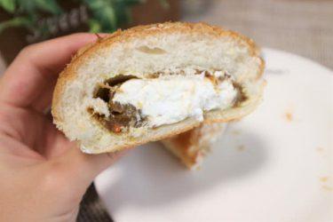 """ローソンで""""前代未聞のパン""""発見! 勇気を出して「カレー&ホイップ」食べてみた【コンビニ新商品レビュー】"""