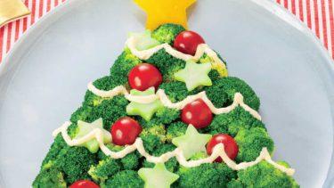ブロッコリーでツリーサラダ!クリスマスにおすすめのレシピ