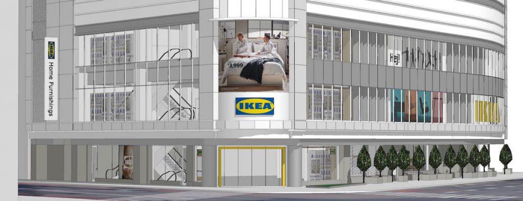 2021年の東京の最新スポット「IKEA 新宿」写真イメージ