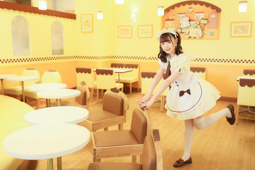 人気キャラクターカフェ「ポムポムプリンカフェ」イメージ