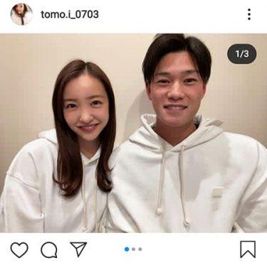 板野友美、ヤクルト高橋投手と結婚発表「1番近くで支え合いたい」