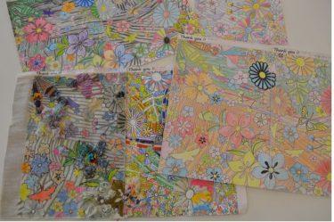 アートで『#ありがとう三浦』」を伝えよう!オンライン作品展 コロナと闘う全ての人にエール 市民公募のぬり絵27点を展示