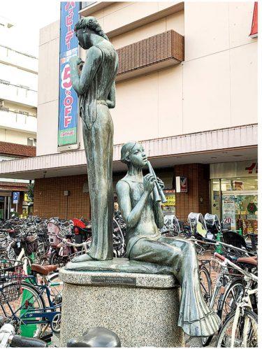 横浜北部のキニナル?アート美術館 巨匠の彫刻が町中に 〜港北区編〜
