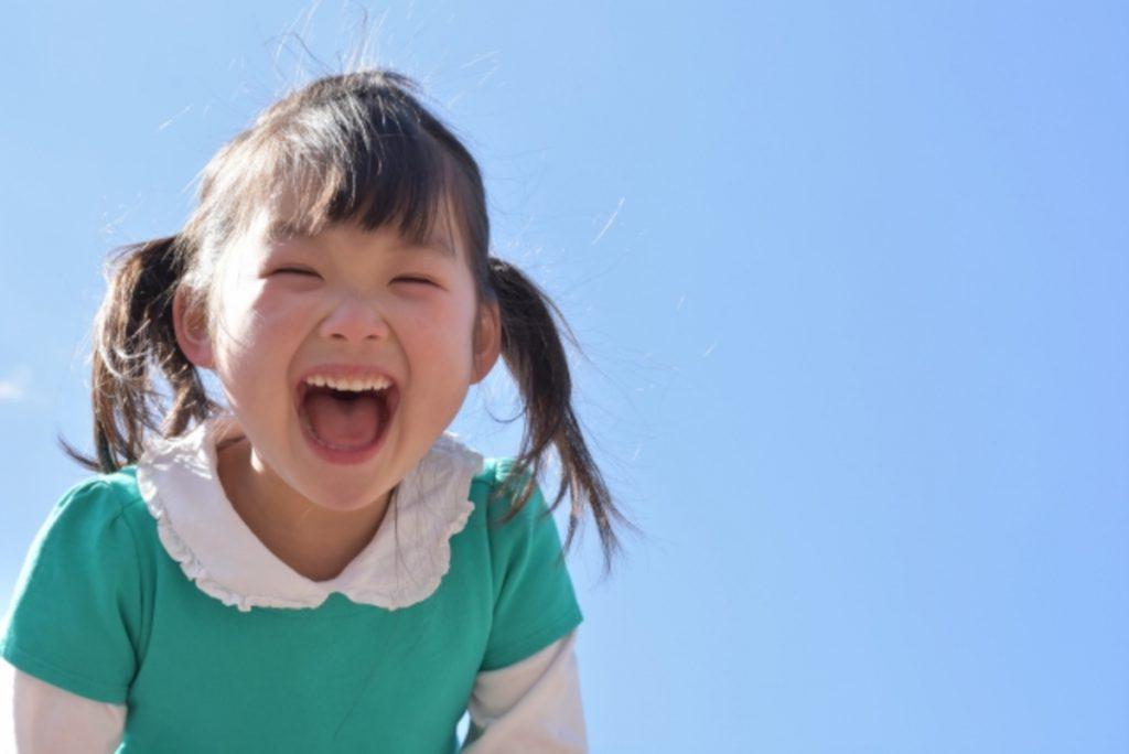 笑顔の女の子のイメージ