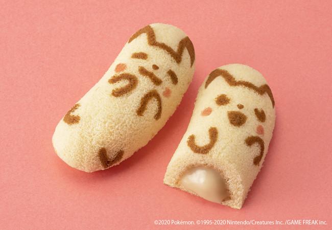 ピカチュウ東京ばな奈バナナのみ風とろ~りバナナカスタードクリーム_商品画像