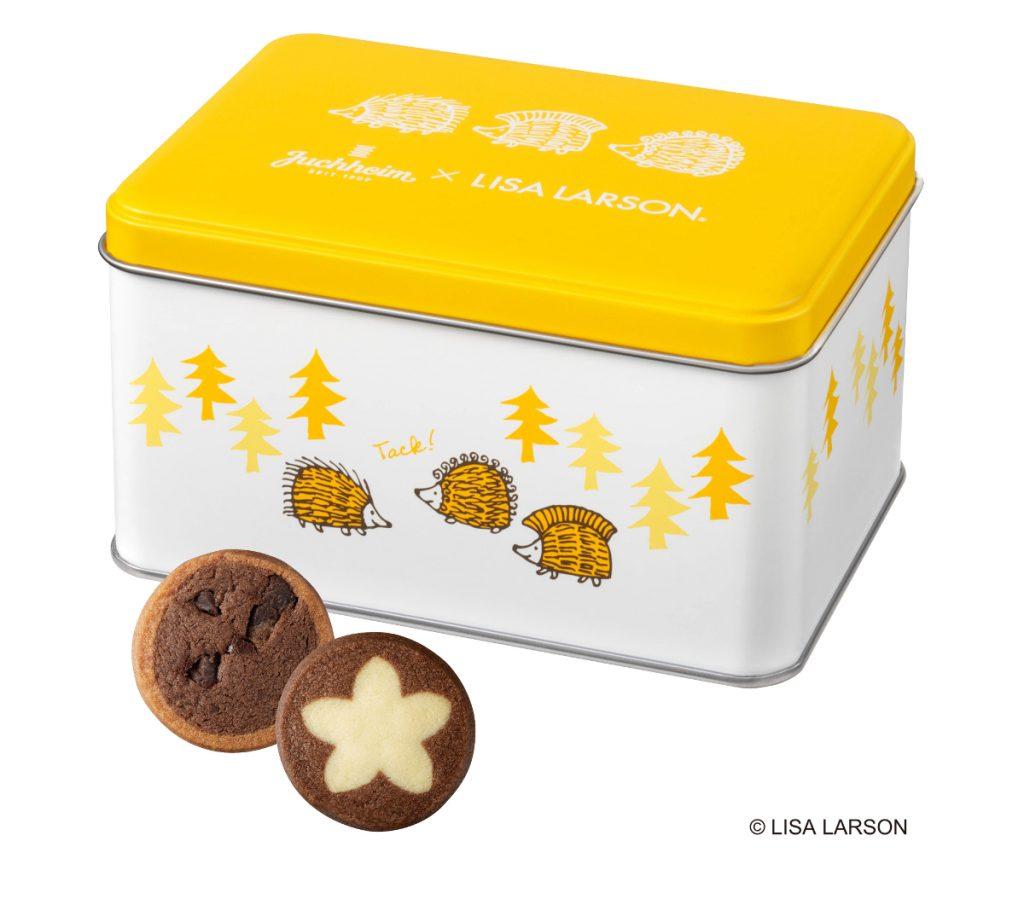 ユーハイム×リサ・ラーソン2021チョコレートクッキー14個入り