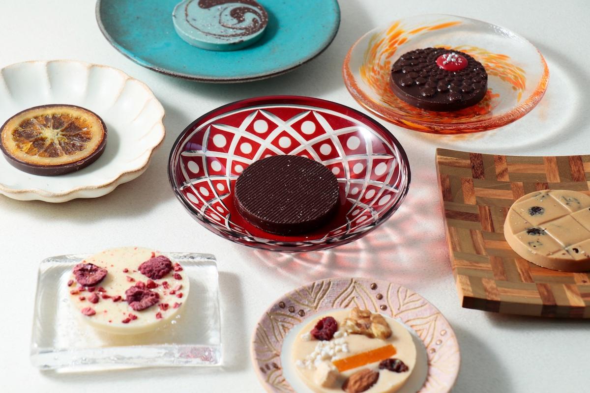 ベルアメールのバレンタインに注目!チョコレート×日本の器が魅せる50種類の「パレショコラ」が美しすぎる♡