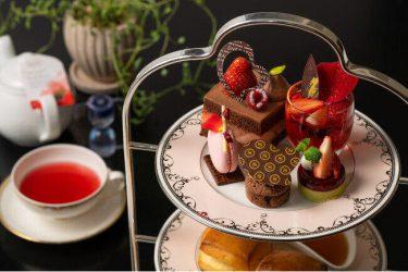 横浜のホテル、絶品スイーツでバレンタイン 「お部屋でアフタヌーンティー」