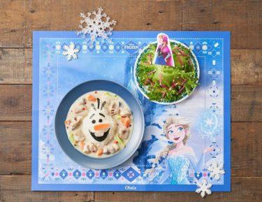 食卓が『アナ雪』の世界に!? Oisixが子どもと一緒に作れるミールキットを発売