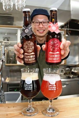 バレンタインは限定ビールで乾杯 新発田の月岡ブルワリーが7日発売