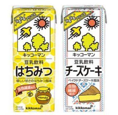 ぷるぷるの豆乳プリンも作れる 「キッコーマン 豆乳飲料 はちみつ/チーズケーキ」
