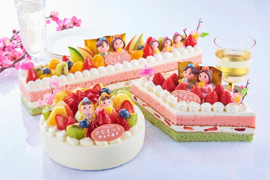 シャトレーゼのひなまつりケーキ(2021年版)イメージ