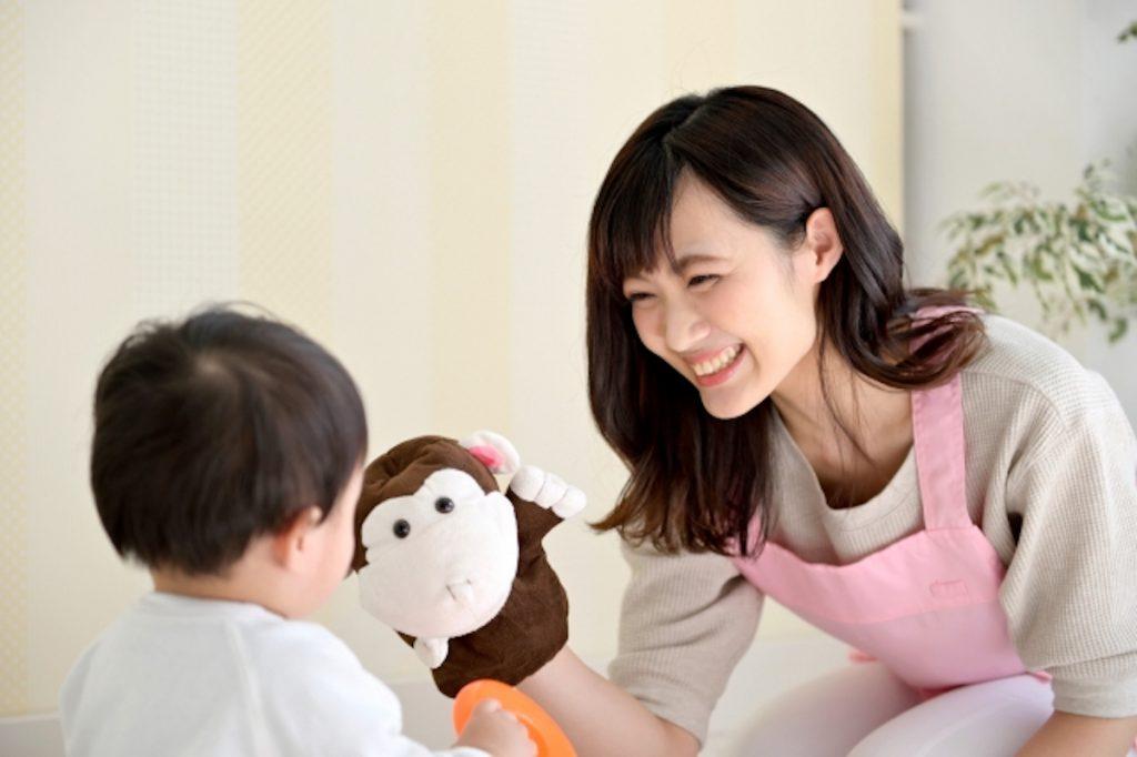 子どもと関わることができるバイト・仕事のイメージ