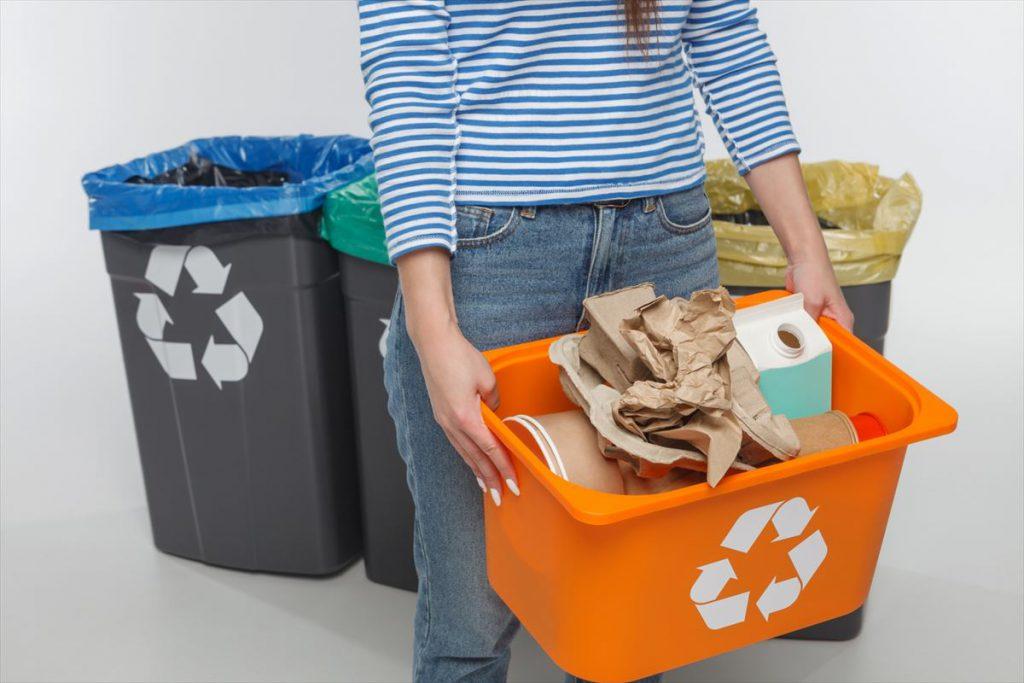 資源のリサイクルイメージ