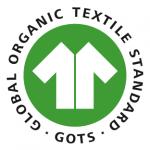 サステナブルな商品の認証ラベル「GOTS認証」ロゴ